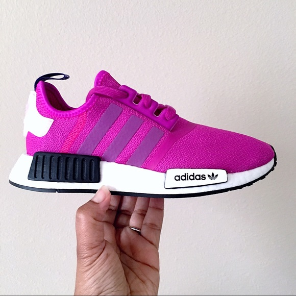Womens Adidas Nmd R Shock Pink